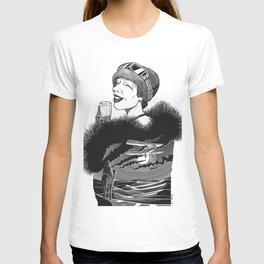 Lady Mary Heath by Szabolcs Kariko T-shirt