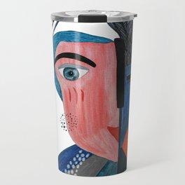 Bi-Polar Portrait Travel Mug