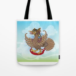 'Jatayu' or Eagle on the story of the Ramayana Tote Bag