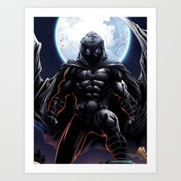 Moon Knight Art Print