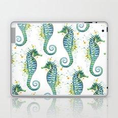 Seahorse: Green Laptop & iPad Skin