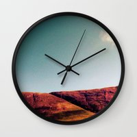 fault Wall Clocks featuring fault. by zenitt