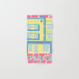 Miami Landmarks - Crescent Hand & Bath Towel