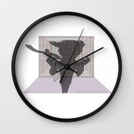 Shadow of the Future Wall Clock