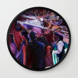 The Wedding Dancers Wall Clock