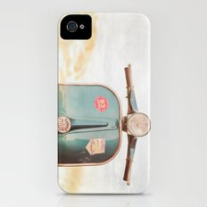 The Blue Vespa iPhone (4, 4s) Slim Case