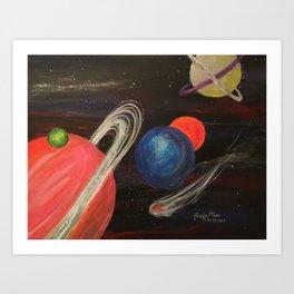 Planetoid Art Print