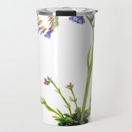 Statice Flower Dissection Travel Mug