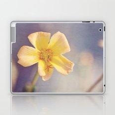 A Little Yellow Flower Laptop & iPad Skin