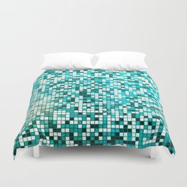 Pool Tiles Duvet Cover