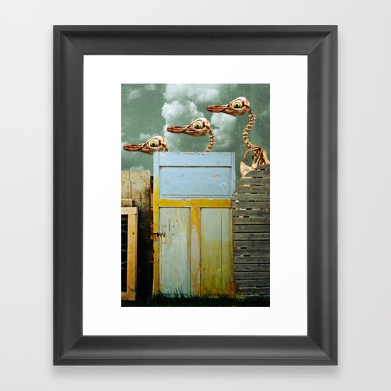 Penguin Walk Framed Art Print