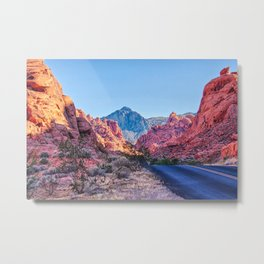 Valley Of Fire State Park, Nevada Metal Print