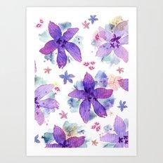 Flower bared Art Print