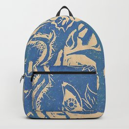 Show me how to live in blue Backpack