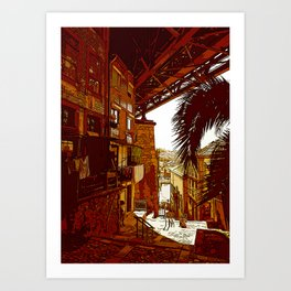 escadas codecal Art Print