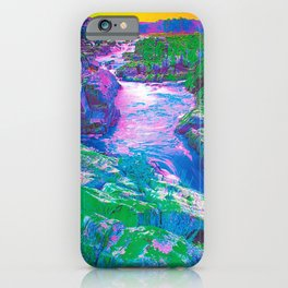 Psychedelic Falls iPhone Case