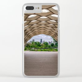 Chicago's Honeycomb in Lincoln Park Clear iPhone Case