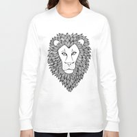 leo Long Sleeve T-shirts featuring Leo by Julie Erin Designs