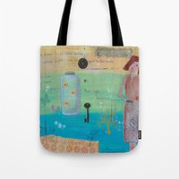 firefly Tote Bags featuring Firefly by Patty Haberman