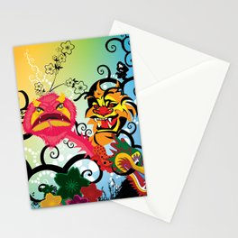 Oriental Magic Place Stationery Cards