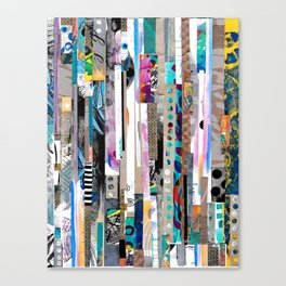 Pieced Together Canvas Print
