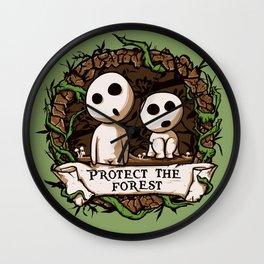 Save Kodamas Wall Clock