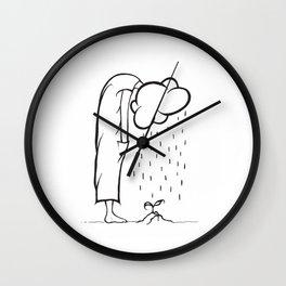 Fais-toi une fleur pis braille donc un peu. Wall Clock