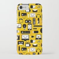 technology iPhone & iPod Cases featuring Technology  by adrianperive