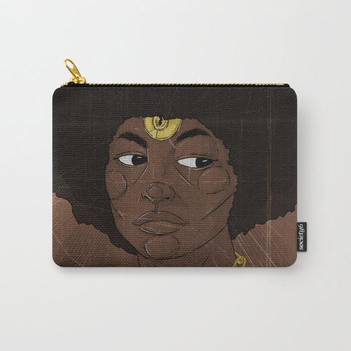 Emancipate yourself from Mental Slavery. Carry-All Pouch