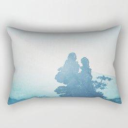 Mist under Uniki Rectangular Pillow