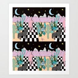 Postmodern Desert Dream Art Print