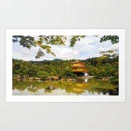 Tokyo Kinkakuji (Golden Pavilion) Art Print