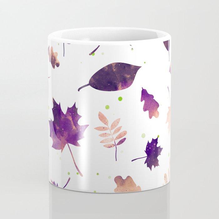 SUNSET LEAF PATTERN Coffee Mug
