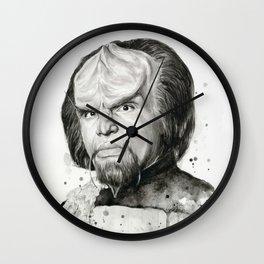 Star Trek: Worf Wall Clock