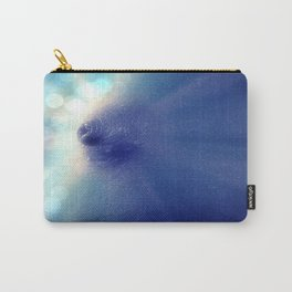 Magnificent Breast Blue Bokeh Sparkle Carry-All Pouch