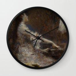 Melodia by Tranquillo Cremona - Victorian Belle Époque Retro Vintage Fine Art Wall Clock