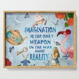 Alice In Wonderland - Imagination Serving Tray