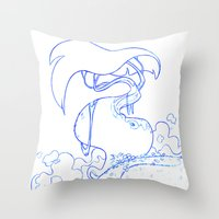 jungle Throw Pillows featuring Jungle by Tayfun Sezer