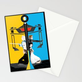 Tron Stationery Cards