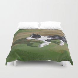 Dog Park Duvet Cover