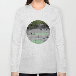 View from above Vancouver Long Sleeve T-shirt