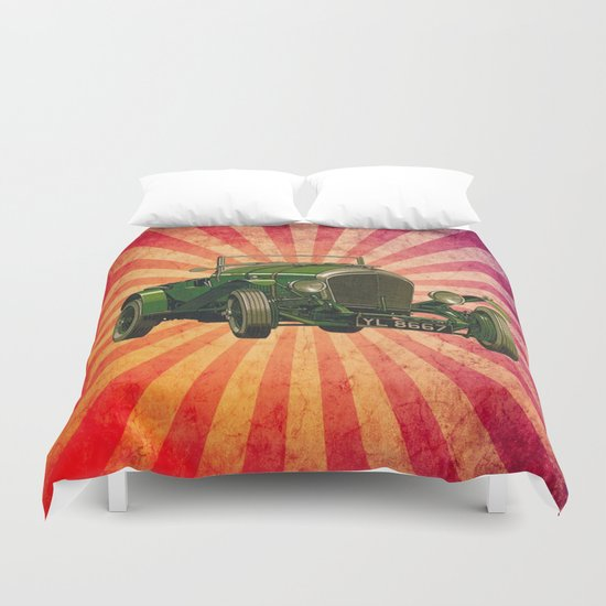 Vintage Car 03 Duvet Cover