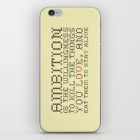 30 rock iPhone & iPod Skins featuring Ambition — Jack Donaghy, 30 Rock by feishien