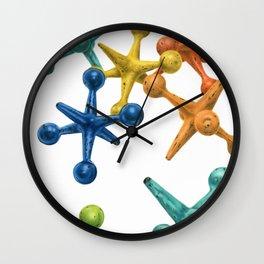 Jack's Jacks- An Abstract Wall Clock