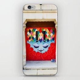 entrez s'il vous plaît iPhone Skin