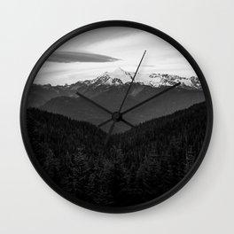 North Cascades Wall Clock