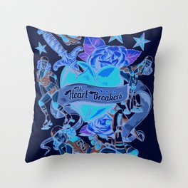 Heart Breakers Throw Pillow