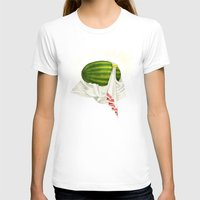 caleb troy T-shirts featuring Melon of Troy by Dav Yendler