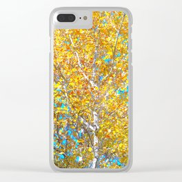Sunlight in the Tree Clear iPhone Case