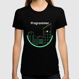 Programmer at night T-shirt